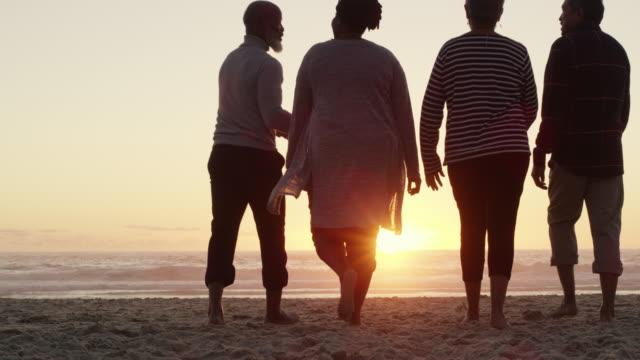 one last walk before heading home - strand south africa stock videos & royalty-free footage