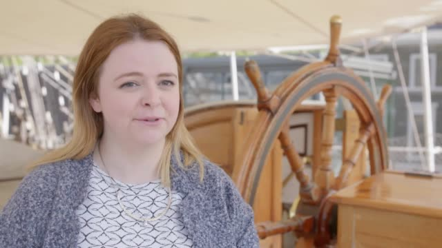 one month before the cutty sark turns 150 riggers have climbed to the terrifying height of 152ft in the air to ensure the ship is looking its best... - preserved in oil stock videos and b-roll footage