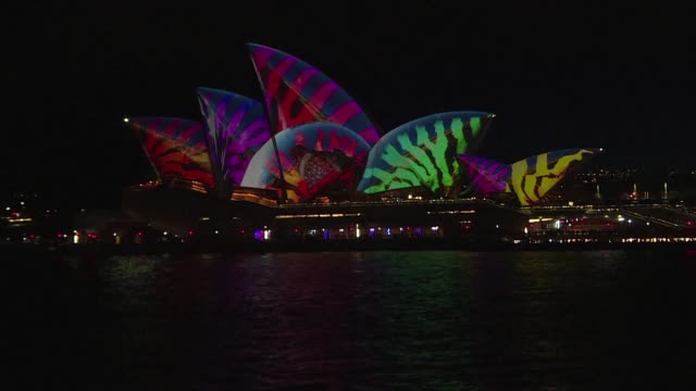 One of Australias biggest draw cards the Sydney Vivid light show got underway Friday with police vowing to take to the skies streets and waterways in...