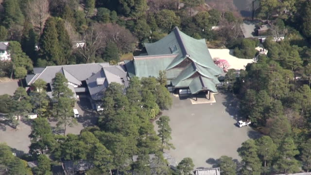 One of Japan's Imperial palaces has completed retrofitting works against possible major earthquakes Imperial Household Agency said Monday March 16...