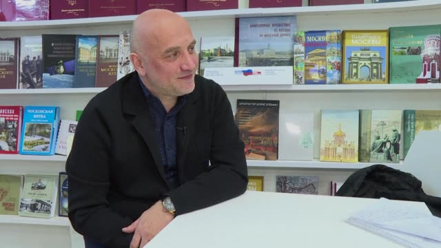 One of Russia's best known novelists Zakhar Prilepin acclaimed for novels drawing on his experiences of serving with Russian forces in Chechnya and...