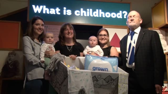 One of Scotland's baby boxes is to be preserved in history in the Museum of Childhood It was revealed that an average of 1000 such boxes per week...