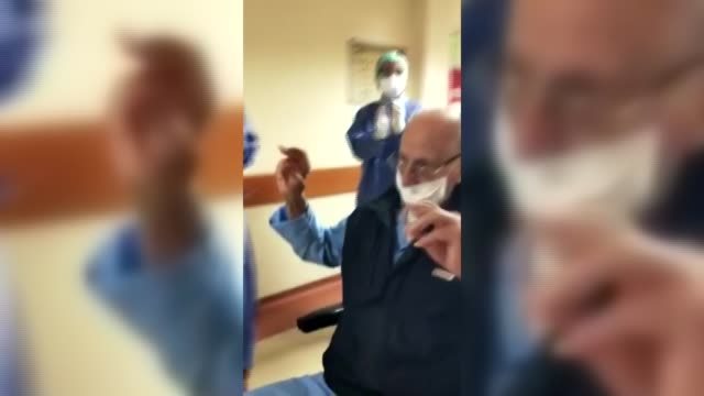 one of the latest survivors of the novel coronavirus in turkey is a 95-year-old man, who was released from the hospital with applauds in western... - survival stock videos & royalty-free footage