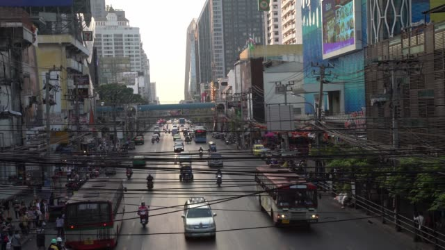 one of the most polluted cities on earth pm25 - bangkok stock videos & royalty-free footage