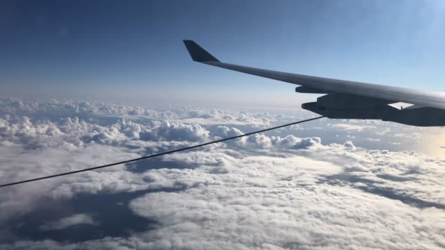 one of the two refuelling lines is released from the wing of a raf voyager aircraft over the north sea on october 08, 2020 in flight, above... - refuelling stock videos & royalty-free footage