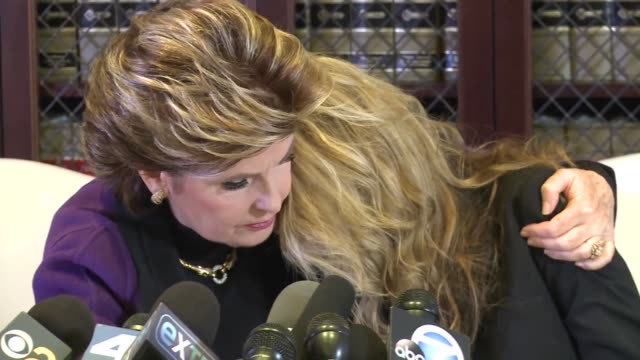 one of the women who accused president elect donald trump of sexual misconduct indicated that she would take legal action against him only if he... - defendant stock videos and b-roll footage