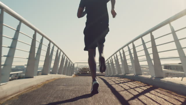 one run changes your day, many runs changes your life - running stock videos & royalty-free footage