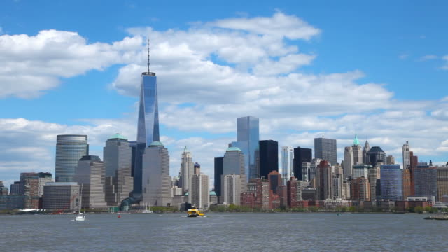 One World Trade Center and the New York City Skyline