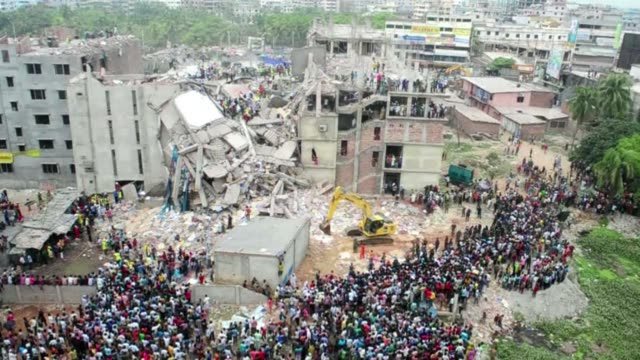 one year after the rana plaza garment factory collapsed killing more than 1000 workers survivors are still struggling to rebuild their lives as... - savar stock videos and b-roll footage