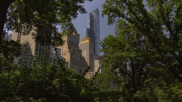 One57 as Seen from Inside Central Park