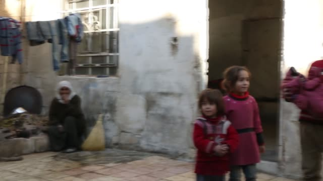 """Ongoing regime attacks on Syria's Eastern Ghouta a suburb of Damascus are turning the life of civilians in the area into an endless nightmare """"Life..."""