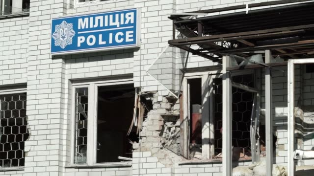 Ongoing skirmishes in the towns to the west of Donetsk are forcing people to flee the area