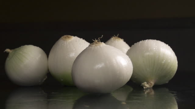 onions - five objects stock videos & royalty-free footage