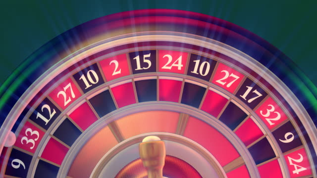 online casinos roulette - roulette stock videos and b-roll footage