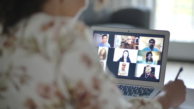 online meeting - fatcamera stock videos & royalty-free footage