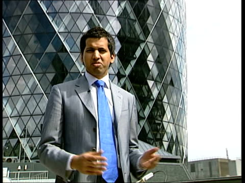 online poker company flotation england london the city i/c la gv gherkin clouds reflected in glass la gv nat west tower building with second... - steeple stock videos & royalty-free footage