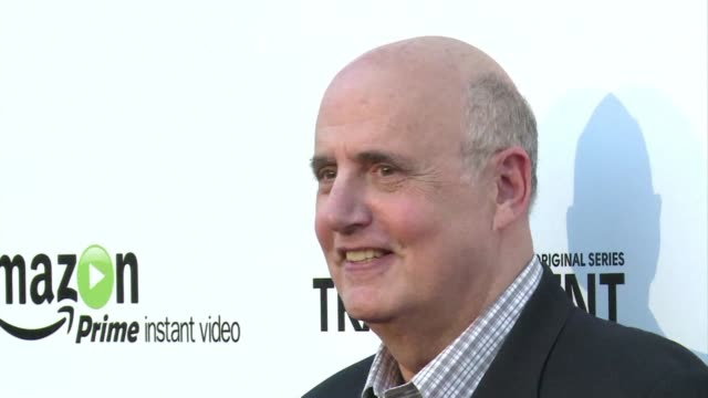 online retail giant amazon celebrates the launch of a new original show it hopes will help catch up with streaming pioneer netflix - jeffrey tambor stock videos & royalty-free footage