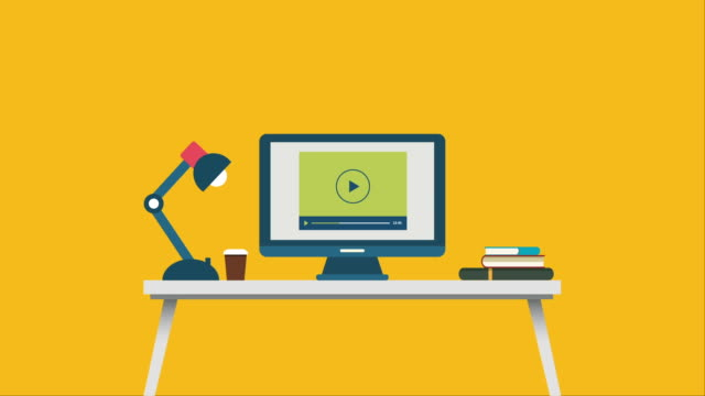 online shopping flat design animation - buy single word stock videos & royalty-free footage