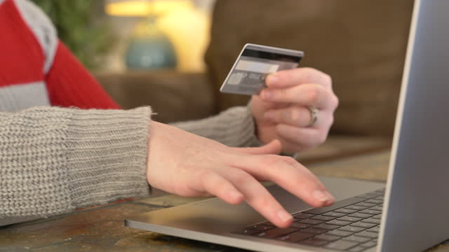 online shopping - debt stock videos & royalty-free footage