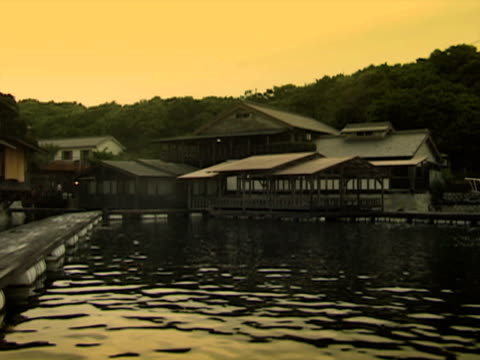 Onsen Ryokan in Japan, by the sea (NTSC video)