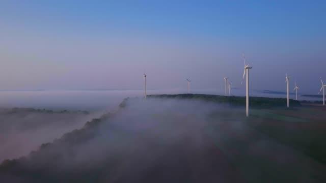 Onshore wind farm, Kirf, Saargau, Rhineland-Palatinate, Germany, Europe