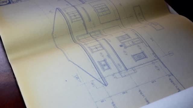 vidéos et rushes de dessin d'architecture ouverte - plateforme