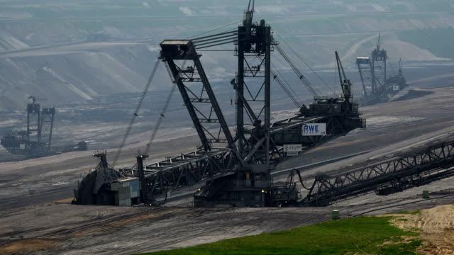 Open brown coal pit Garzweiler, Grevenbroich, North Rhine Westphalia, Germany