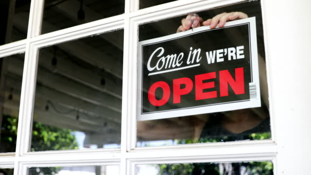 open business sign - politics stock videos & royalty-free footage
