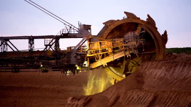 open cast mining - bucket stock videos & royalty-free footage