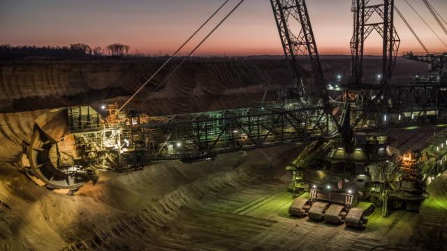 open cast mining - open cast mine stock videos & royalty-free footage