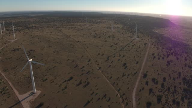 Open field of Turbines