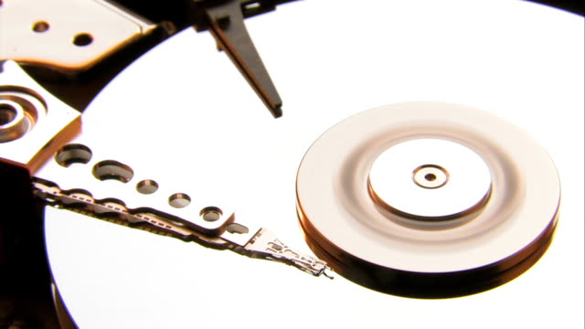 open hard drive angle view - disk stock videos and b-roll footage