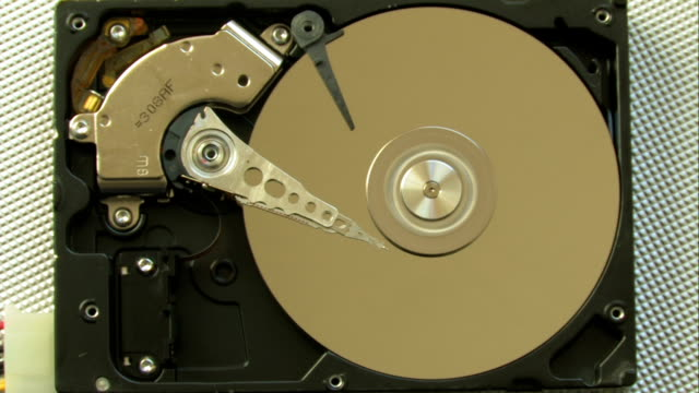 open hard drive running - disk stock videos & royalty-free footage