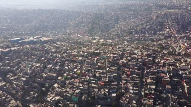 Open Mexico City landscape, aerial