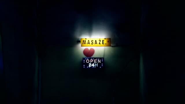 Open, Neon, Massage, Heart