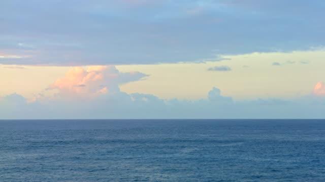 Open Ocean Stormclouds Kauai Hawaii