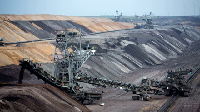 open pit mine - pit mine stock videos and b-roll footage