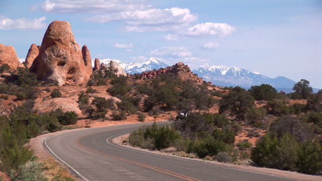 open road - wide shot stock videos & royalty-free footage