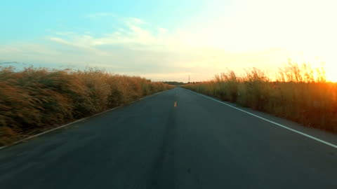open road - moving past stock videos & royalty-free footage