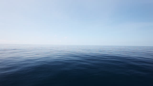 Open water off coast of Bermuda, POV