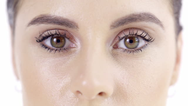 open your eyes, what do you see? - beauty treatment stock videos & royalty-free footage