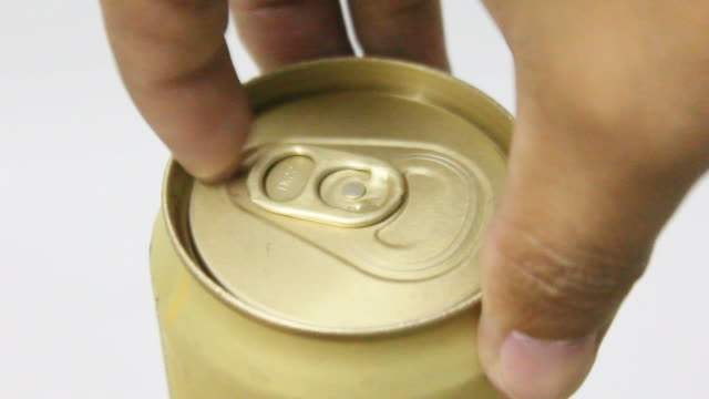 opening a beer can. - open stock videos & royalty-free footage
