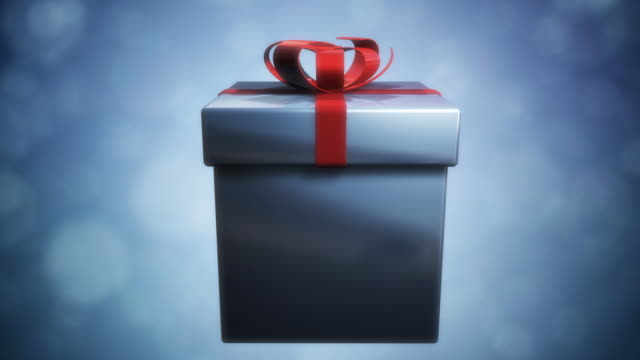 opening a present - gift box stock videos & royalty-free footage
