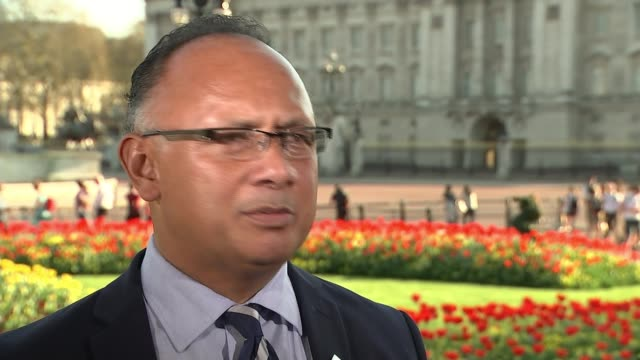 Queen Elizabeth hopes Prince Charles will be the next head of the Commonwealth ENGLAND London EXT Dr Tevita Tu'i Uata interview SOT