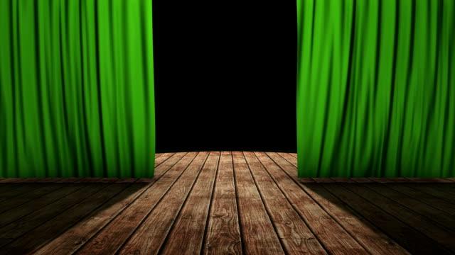eröffnung vorhang - curtain stock-videos und b-roll-filmmaterial