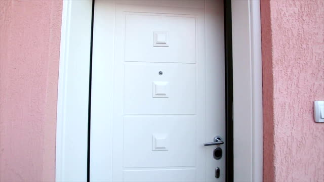 opening the door - door stock videos & royalty-free footage