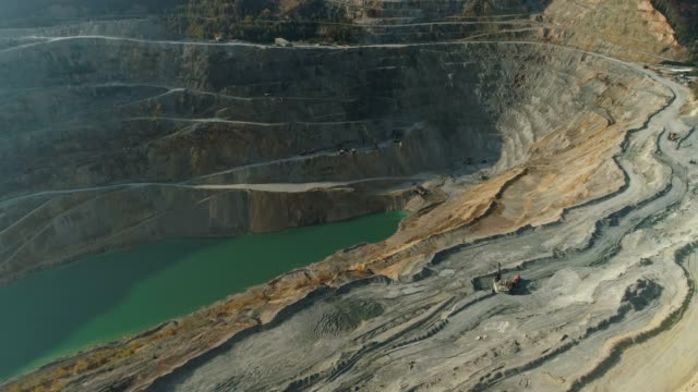 open-pit mine - mining stock videos & royalty-free footage