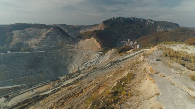 open-pit mine - copper mine stock videos and b-roll footage