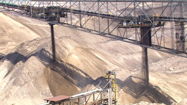 open-pit mining - pit mine stock videos and b-roll footage