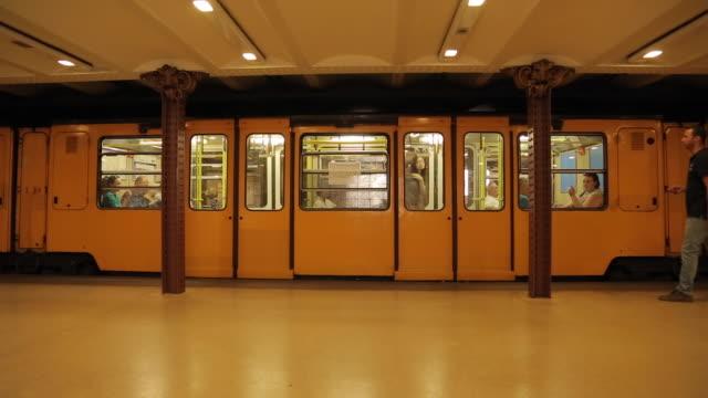 Opera Metro Station, Budapest, Hungary, Europe